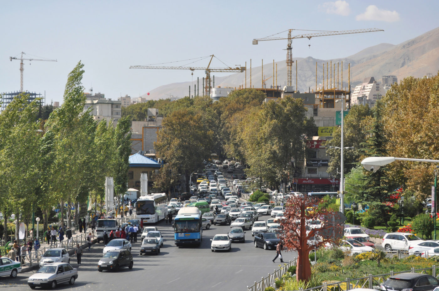 Tehran Opens Up for a Change in Its Planning and Design Culture