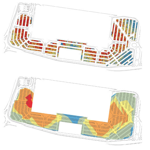 Analysing User Behaviour in Parking Areas as a Key Step for Designing Better Ones