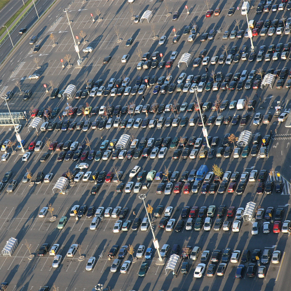 Future-proofing airport car park provision
