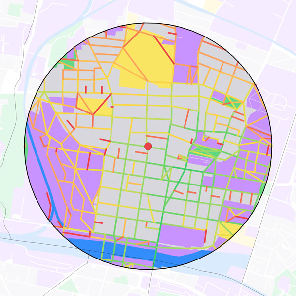 Walkability for Children in Bologna: GIS and Space Syntax Applications