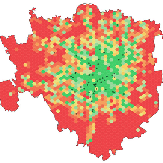 Covid-19 pandemic and activity patterns in Milan. Wi-Fi sensors and location-based data